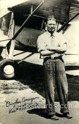 tra001143 - Douglas Corrigan Aviation, Airplane Postcard Postcards