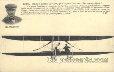 tra001146 - M. Gaubert Early Air Airplane Postcard Postcards