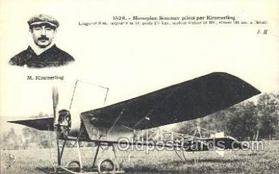 tra001165 - M. Kimmerling Early Air Airplane Postcard Postcards