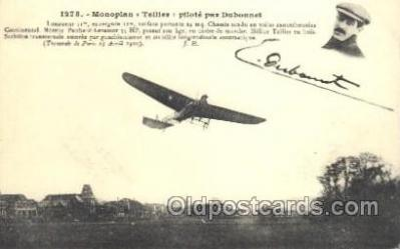 tra001166 - Monoplan Early Air Airplane Postcard Postcards