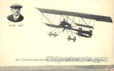 tra001171 - M. Martinet Early Air Airplane Postcard Postcards
