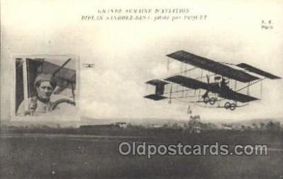 tra001173 - PeQuet Early Air Airplane Postcard Postcards