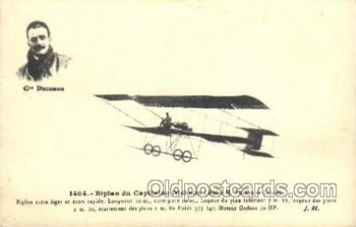 tra001181 - Dickson Early Air Airplane Postcard Postcards