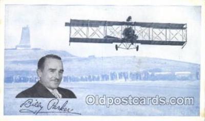 tra001204 - Billy Parker Aviation, Airplane Postcard Postcards
