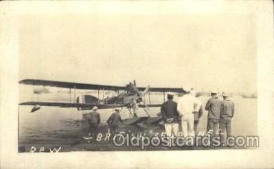 tra001222 - British Seaplane Aviation, Airplane Postcard Postcards