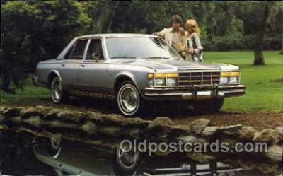 tra002023 - Chrysler Le Baron auto postcard