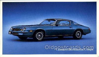 tra002026 - Camaro Berlinetta auto postcard