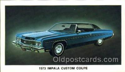 tra002038 - Impala Coupe 73' automotive postcards