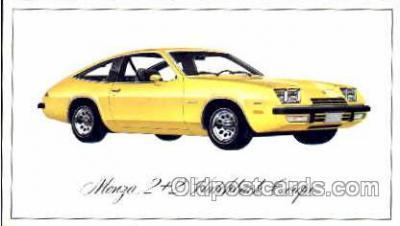 tra002044 - Manza Hatchback automotive postcards