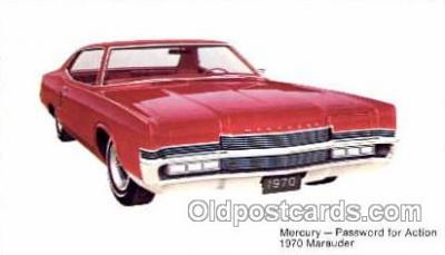 tra002062 - Mercury Marauder 70' automotive postcards