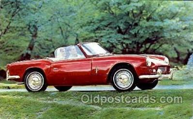 tra002082 - Triumph Spitfire automotive postcard