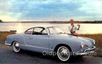 tra002085 - VW automotive postcard