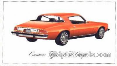 tra002087 - Camaro Coupe automotive postcard