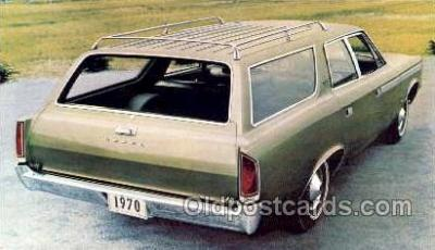 tra002095 - Rebel SST Wagon 70' automotive postcard