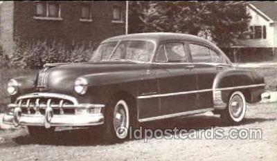 tra002099 - Pontiac Steamliner 50' automotive postcard