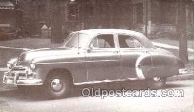 tra002105 - Chevrolet Styleline 50' automotive postcard