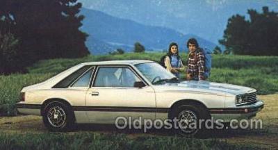tra002123 - 1979 Mercury Capri Auto, Automotive, Car, Postcard Postcards