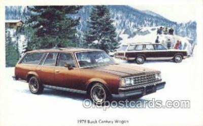 tra002143 - 1978 Buick Century Wagon Automotive Old Vintage Antique Postcard Post Cards