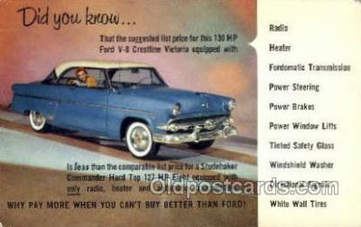 Ford V8 Crestline Victoria