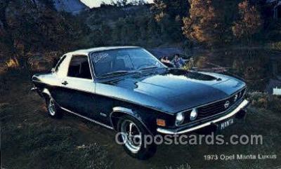 tra002150 - 1973 Opel Manta Lexus  Automotive Old Vintage Antique Postcard Post Cards