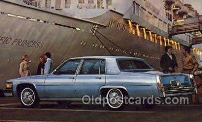 tra002154 - Cadillac 1978 Automotive Old Vintage Antique Postcard Post Cards