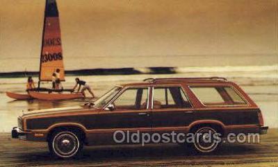 tra002155 - 1979 Fairmont Squire Automotive Old Vintage Antique Postcard Post Cards