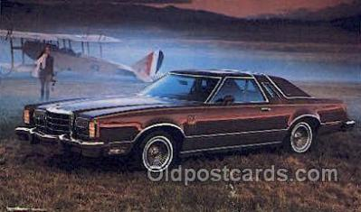 tra002163 - 1979 Thunderbird Heritage Automotive Old Vintage Antique Postcard Post Cards