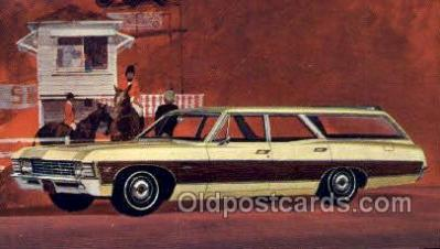 tra002172 - 1967 Caprice Custom Wagon Automotive Old Vintage Antique Postcard Post Cards