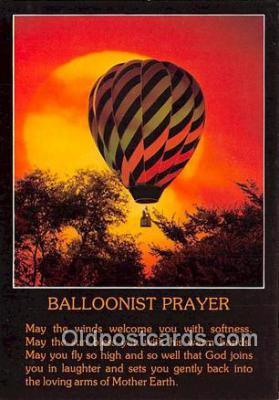 Ballonist Prayer