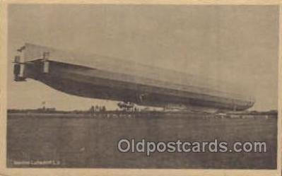 tra004037 - Zeppelin Postcard Postcards
