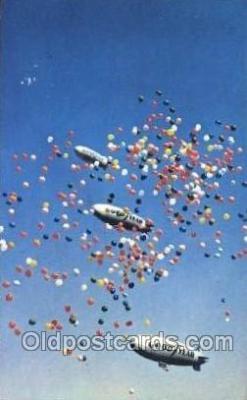 tra004079 - Goodyear Aerial Ambassadors, Akron, Ohio, USA Zeppelin, Zeppelins Postcard Postcards