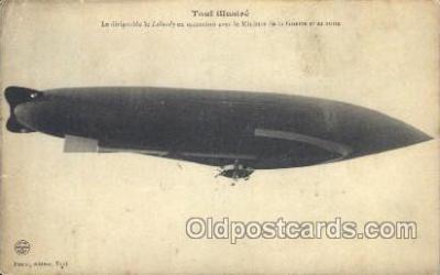 tra004084 - Poirot, Editeur, Toul Zeppelin, Zeppelins Postcard Postcards