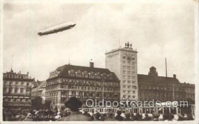 Graf Zeppelin,  Uber Leipzig,