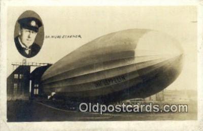 tra004117 - Dr. Hugo Eckener, Graf Zeppelin  Postcard Post Card, Carte Postale, Cartolina Postale, Tarjets Postal,  Old Vintage Antique