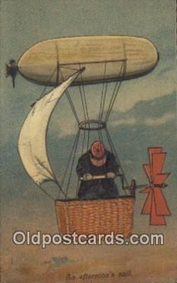 tra004123 - An Afternoon Sail  Postcard Post Card, Carte Postale, Cartolina Postale, Tarjets Postal,  Old Vintage Antique