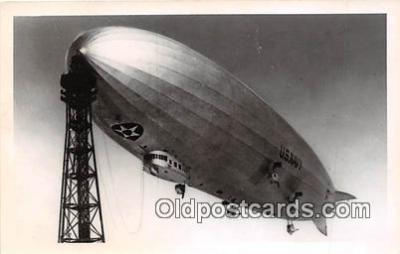 tra004136 - US Navy Zeppelin Postcard Post Card