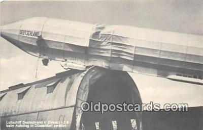 tra004141 - Luffschiff Deutschland II Postcard Post Card