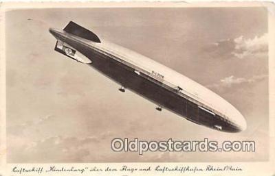 Zeppelin Luftschiff LZ129 Hindenburg