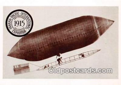 Airship, San Franciscos Panama Pacific International Exposition 1915
