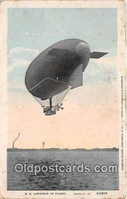 US Dirigible in Flight