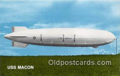 USS Macon, Maiden Flight April 21, 1933