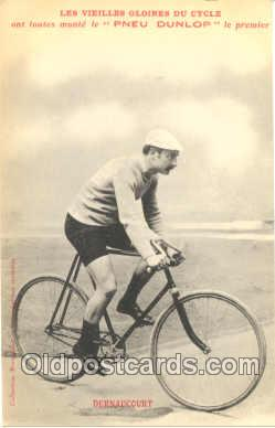 tra005026 - Pneu Dunlop, Cycling, Bicycle Bike Postcard postcards