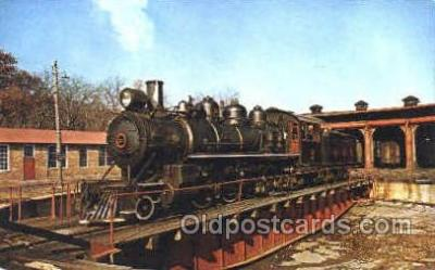 tra006013 - East Broad Top Railroad, Rockhill Furnace, PA, USA Train Trains, Postcard Postcards