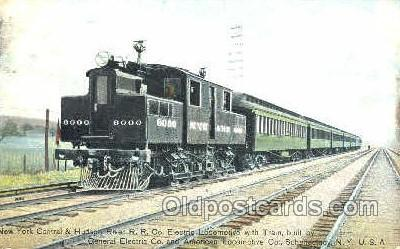 tra006027 - Electric Locomotive, Schenectady, NY, USA Train Trains, Postcard Postcards
