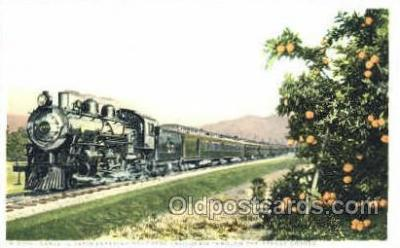 tra006048 - Sante Fe Train, CA, USA Train Trains, Postcard Postcards