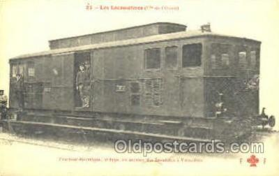 tra006061 - Les Locomotives Train Trains, Postcard Postcards