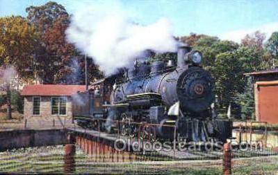 tra006065 - East Broad Top Railroad, Rockhill Furnace, PA, USA Train Trains, Postcard Postcards