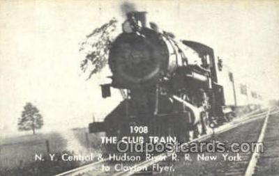 tra006071 - The Club Train, NY, USA Train Trains, Postcard Postcards