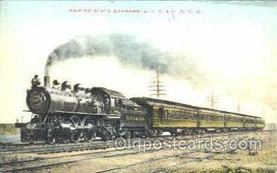 tra006114 - Empire State Express, NY, USA Train Trains, Postcard Postcards