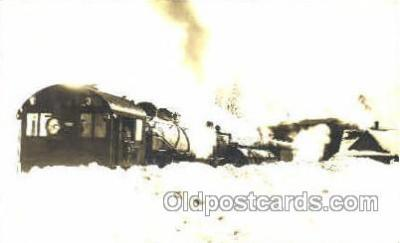 tra006122 - Blue Canyon, CA, USA Train Trains, Postcard Postcards